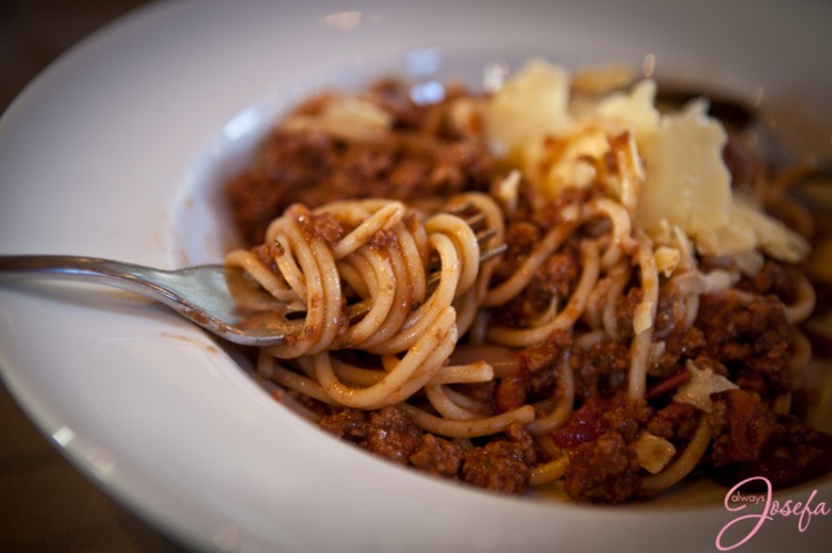 spaghetti induced anxiety