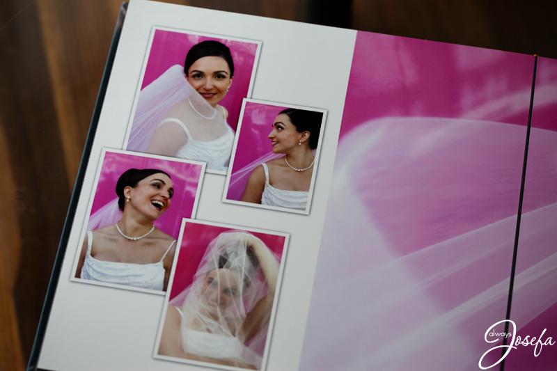 Bride, veil, wedding day, pink