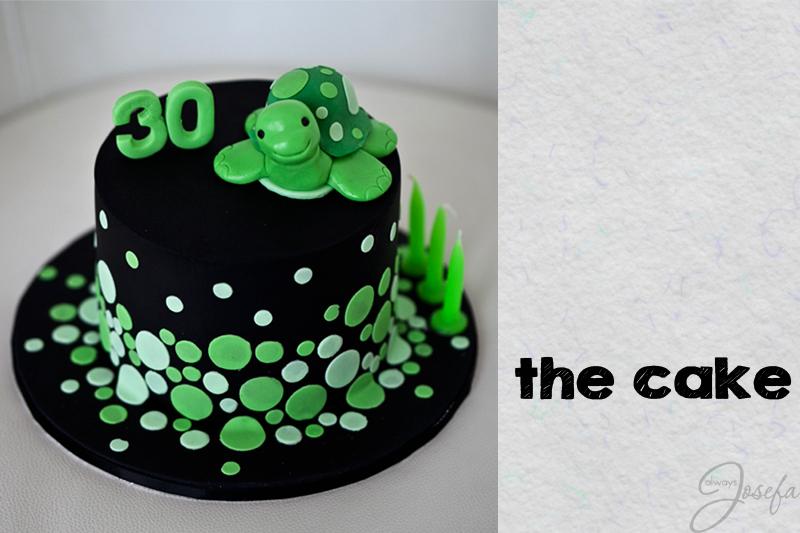 turtle birthday cake